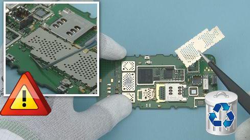 Как разобрать телефон Nokia Asha 311 / 3110 (28)