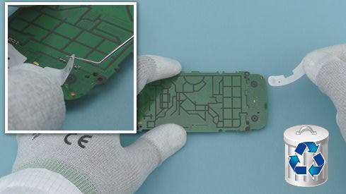 Как разобрать телефон Nokia Asha 311 / 3110 (29)