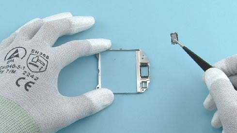 Как разобрать телефон Nokia Asha 200 / 201 (29)