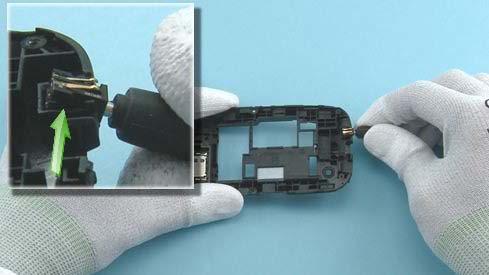 Как разобрать телефон Nokia Asha 200 / 201 (31)