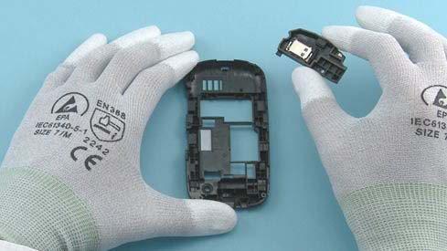 Как разобрать телефон Nokia Asha 200 / 201 (33)