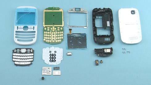 Как разобрать телефон Nokia Asha 200 / 201 (34)