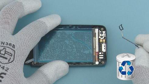 Как разобрать телефон Nokia Asha 311 / 3110 (36)