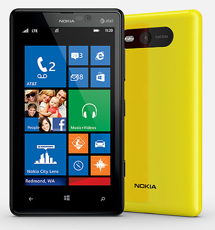 Как сделать сброс настроек телефона Nokia Lumia 820 к заводским