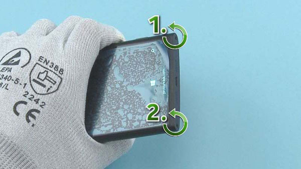 Как разобрать телефон Nokia Lumia 920 (60)