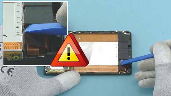 Как cобрать телефон Nokia Lumia 920 после замены деталей (55)