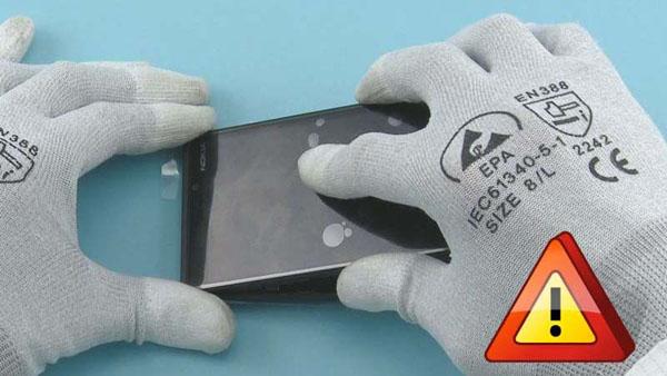 Как cобрать телефон Nokia Lumia 920 после замены деталей (73)