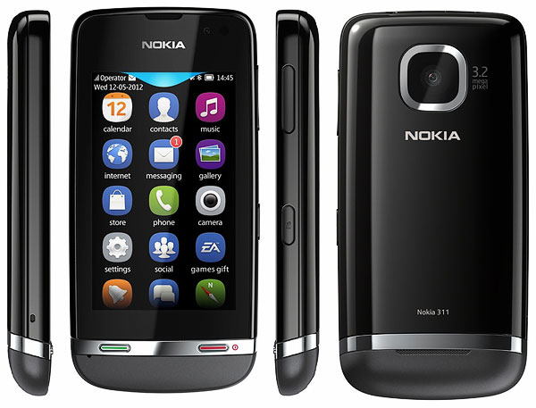 Как cобрать телефон Nokia Asha 311 / 3110 после замены деталей (1)