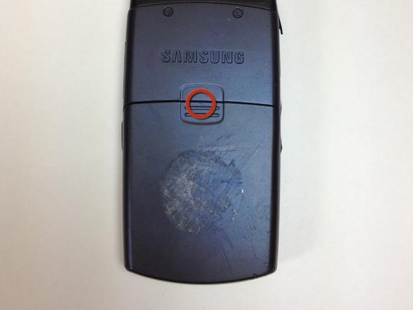 Как разобрать телефон Samsung SGH A707 (2)