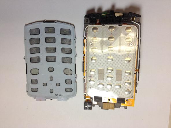 Как разобрать телефон Samsung SGH A707 (16)