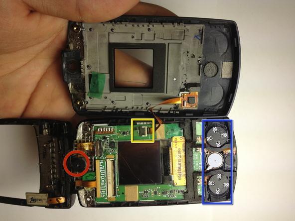Как разобрать телефон Samsung SGH A707 (19)