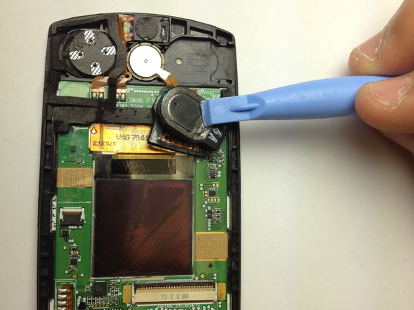 Как разобрать телефон Samsung SGH A707 (23)
