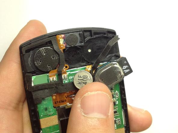 Как разобрать телефон Samsung SGH A707 (25)