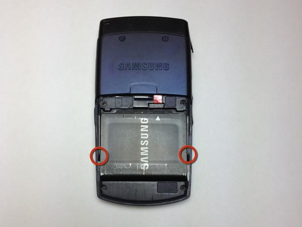 Как разобрать телефон Samsung SGH A707 (3)