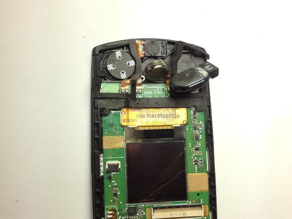 Как разобрать телефон Samsung SGH A707 (26)