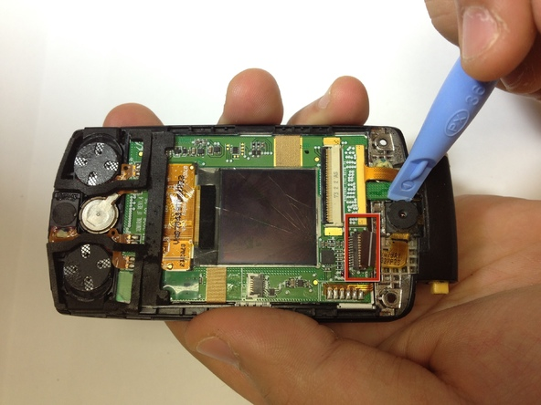 Как разобрать телефон Samsung SGH A707 (27)
