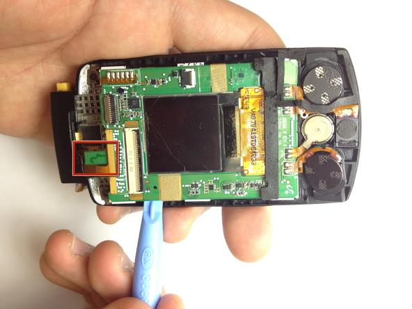 Как разобрать телефон Samsung SGH A707 (29)
