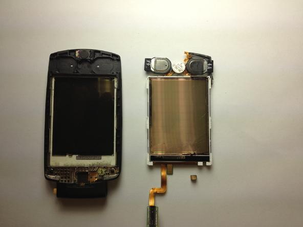 Как разобрать телефон Samsung SGH A707 (31)