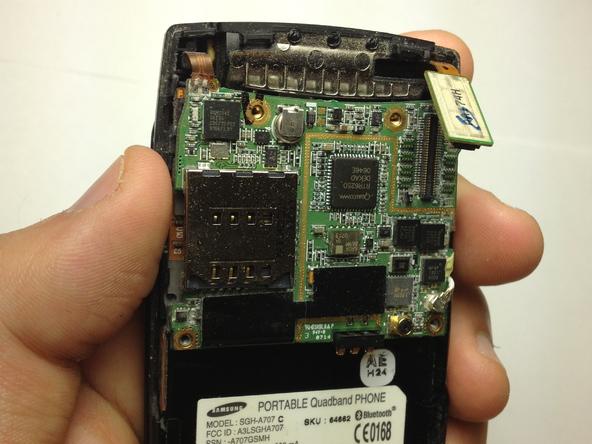 Как разобрать телефон Samsung SGH A707 (9)