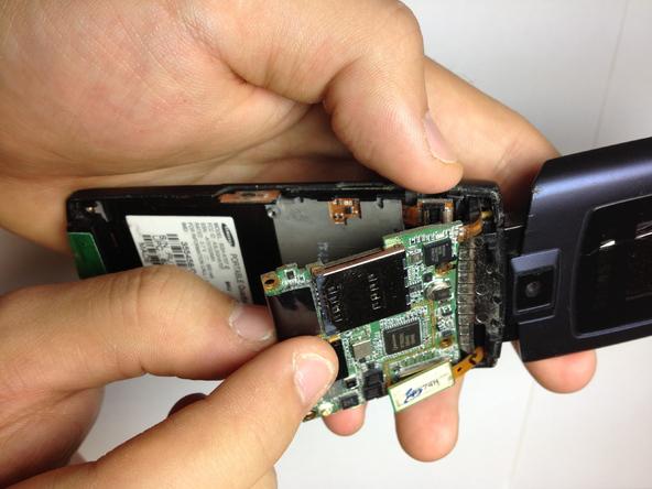 Как разобрать телефон Samsung SGH A707 (11)