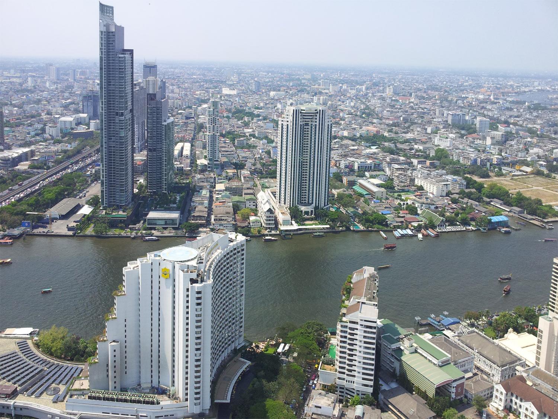 Заброшенные этажи в самой дорогой гостинице Бангкока Lebua в The State Tower (15)