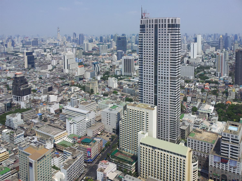 Заброшенные этажи в самой дорогой гостинице Бангкока Lebua в The State Tower (16)