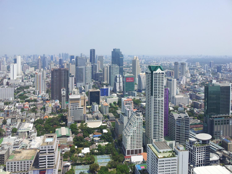 Заброшенные этажи в самой дорогой гостинице Бангкока Lebua в The State Tower (17)