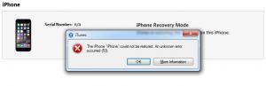 Ошибка 53 на iPhone 6, 6 Plus, 6S и 6S Plus