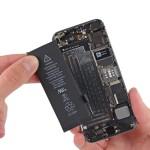 Замета аккумулятора на iPhone 5S