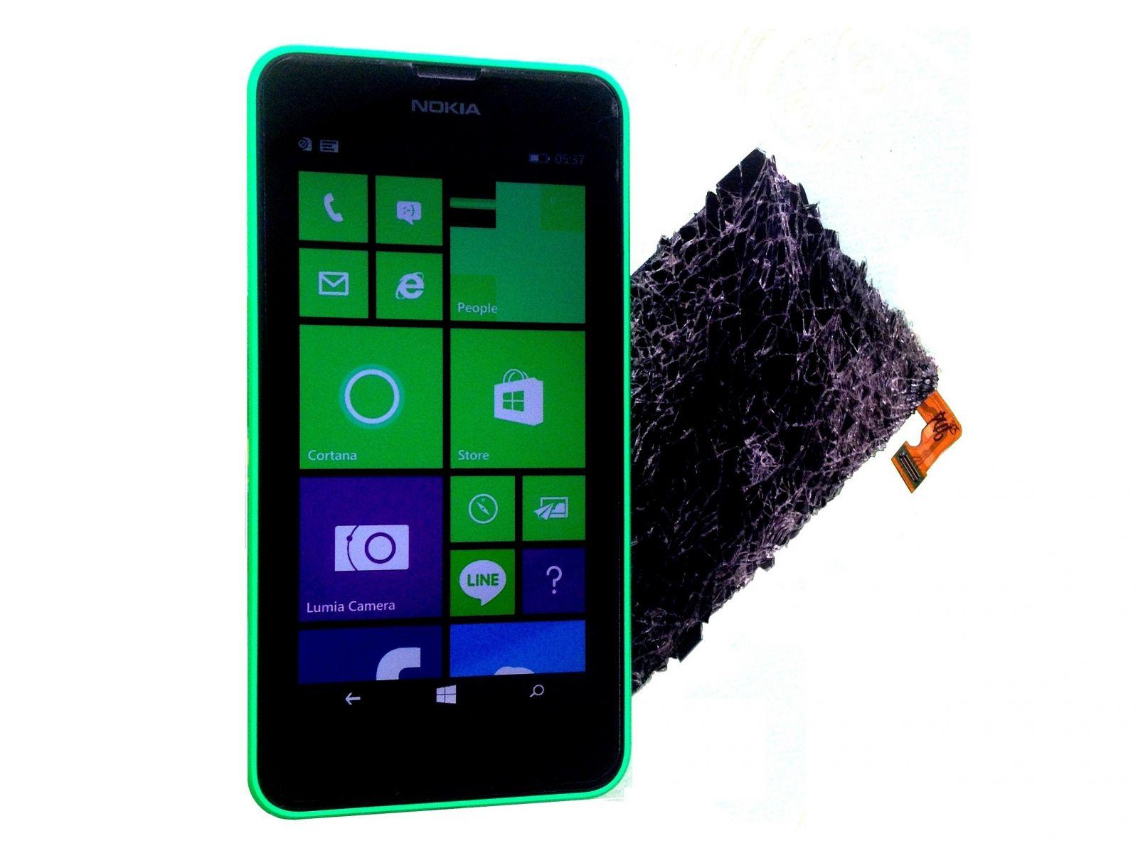 Замена экрана на Microsoft Nokia Lumia 635 (1)