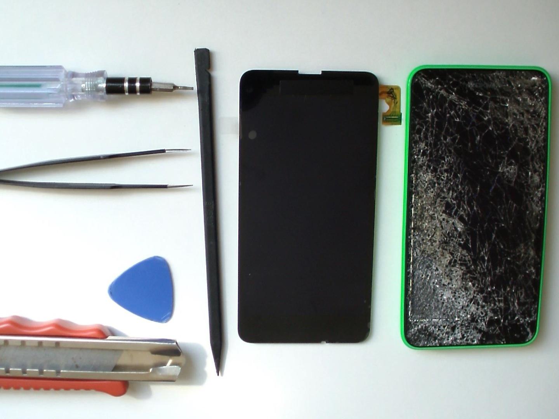 Замена экрана на Microsoft Nokia Lumia 635 (2)