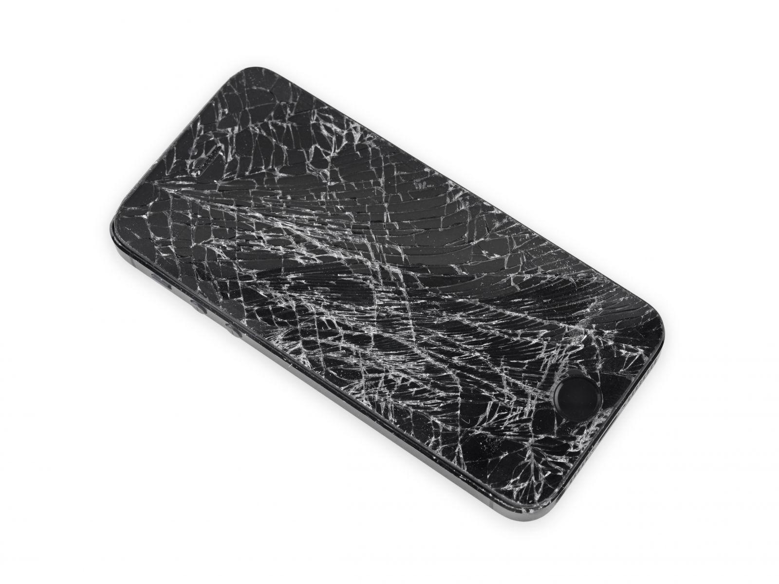 Замена сенсорного стекла и дисплея на iPhone 5S (2)