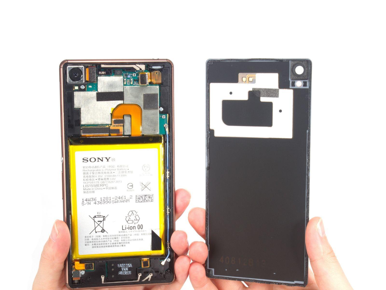 Замена экрана на Sony Xperia Z3 Dual (5)