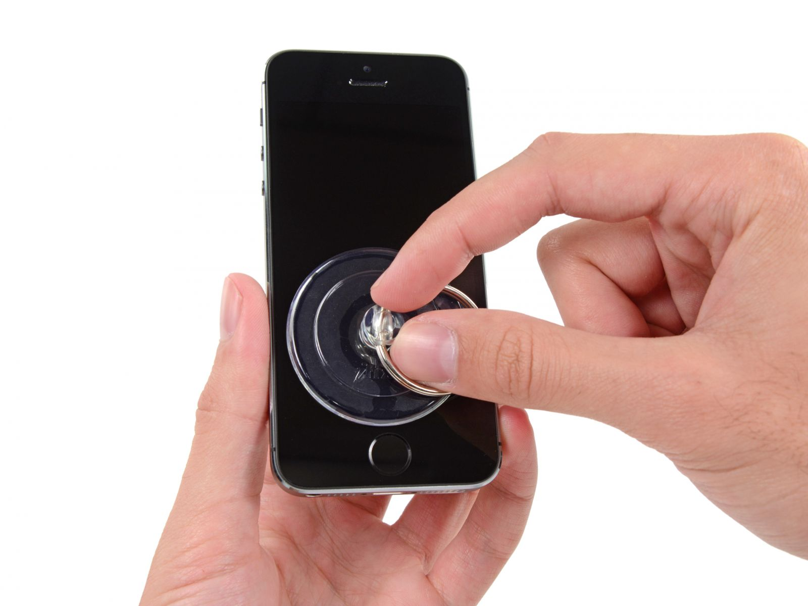 Замета аккумулятора на iPhone 5S (6)