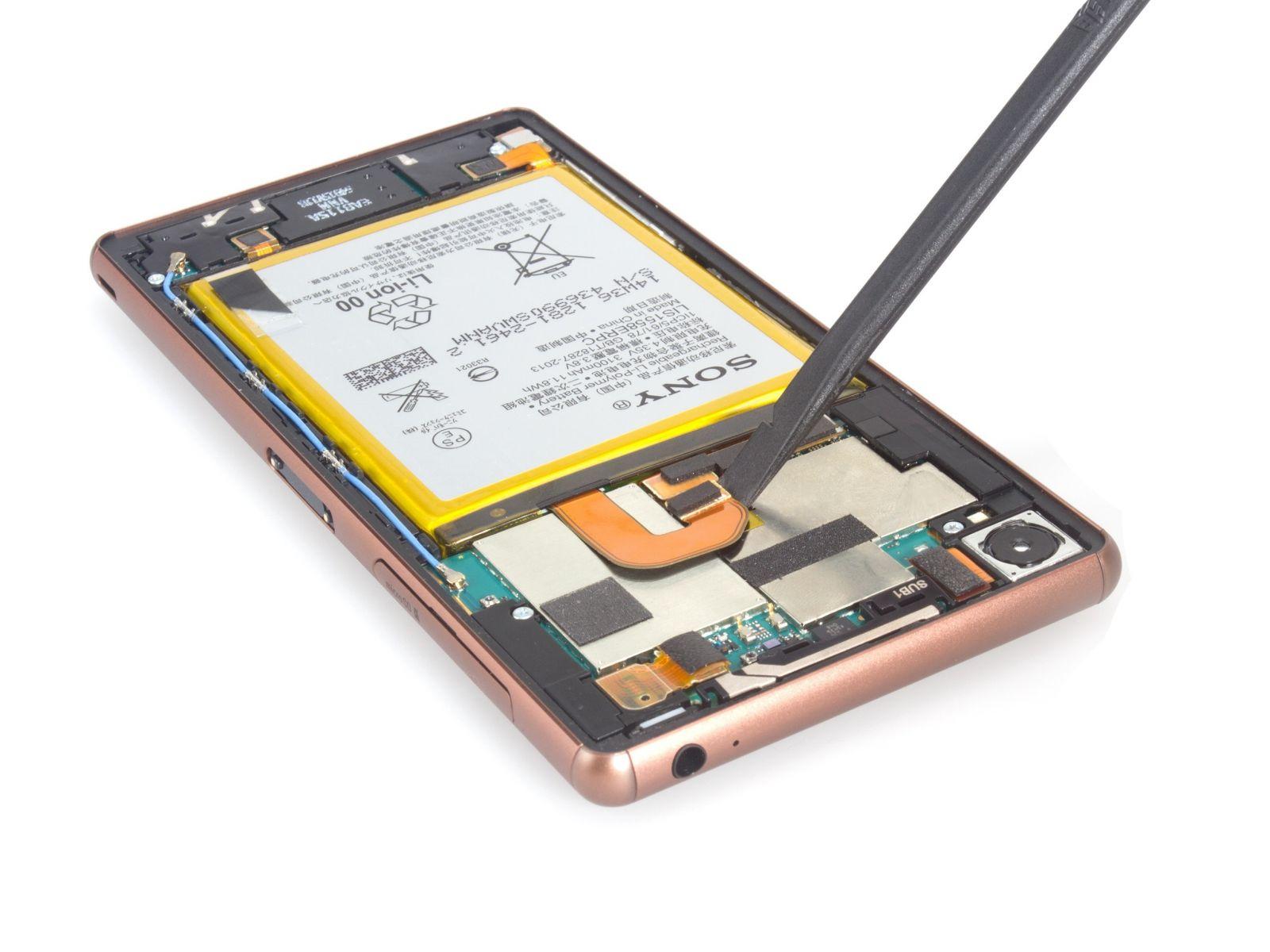 Замена экрана на Sony Xperia Z3 Dual (6)