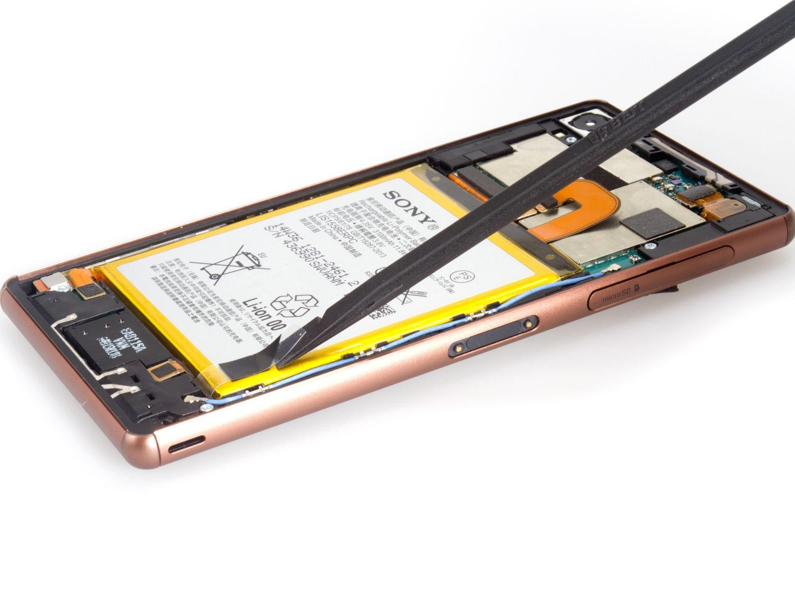 Замена экрана на Sony Xperia Z3 Dual (7)