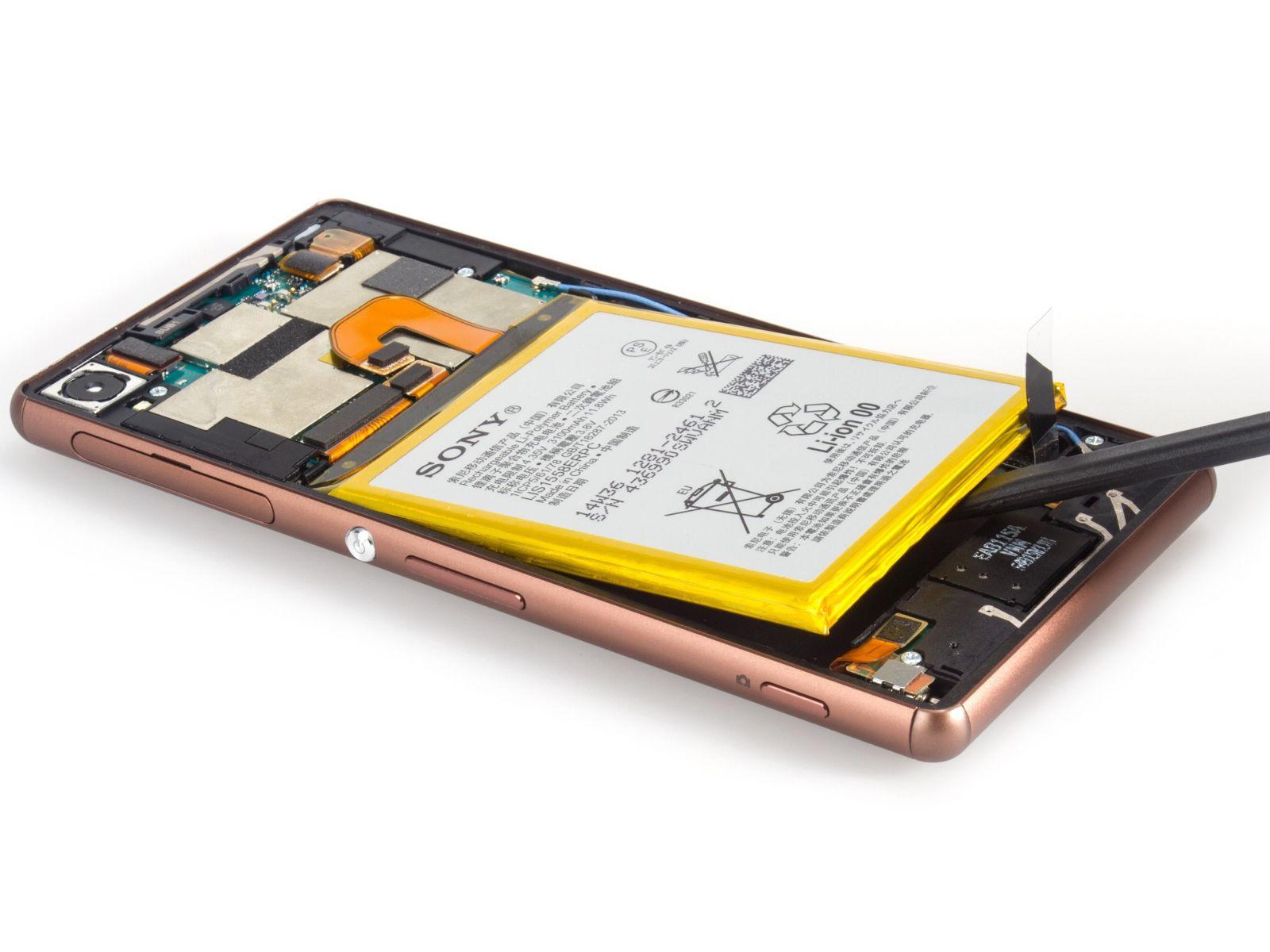 Замена экрана на Sony Xperia Z3 Dual (8)