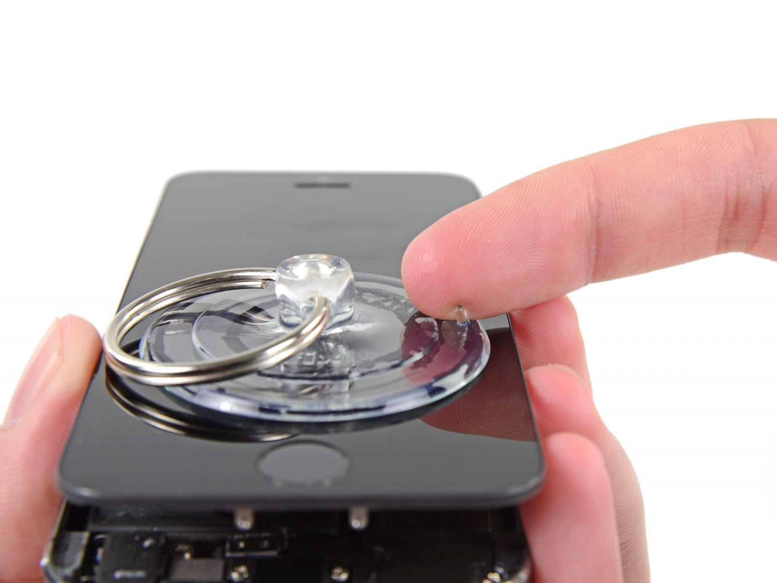 Замена сенсорного стекла и дисплея на iPhone 5S (8)