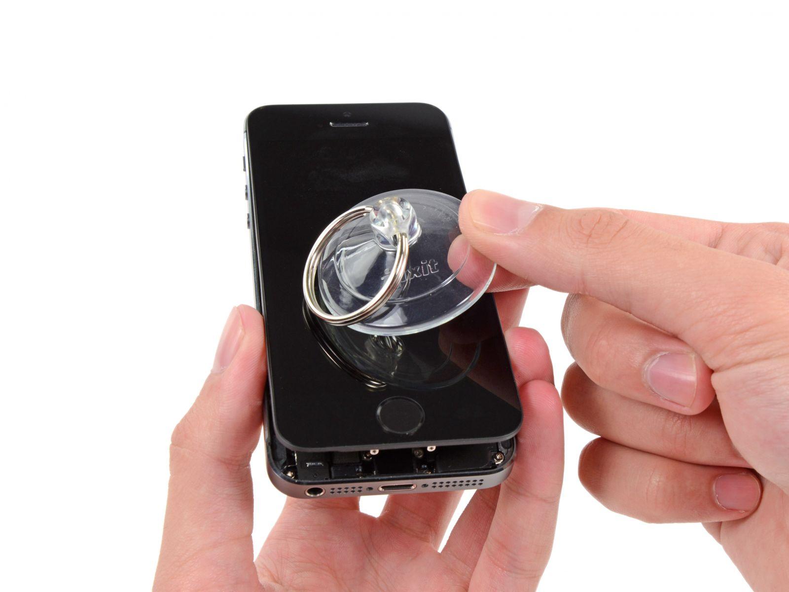 Замена кнопки «домой» на iPhone 5S (9)