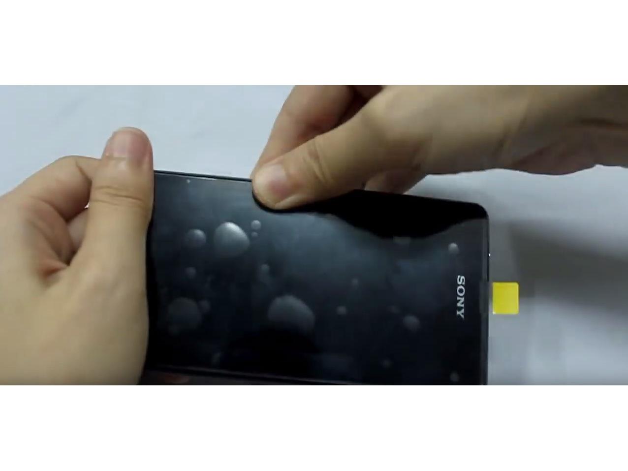Замена экрана на Sony Xperia Z1 Compact (9)