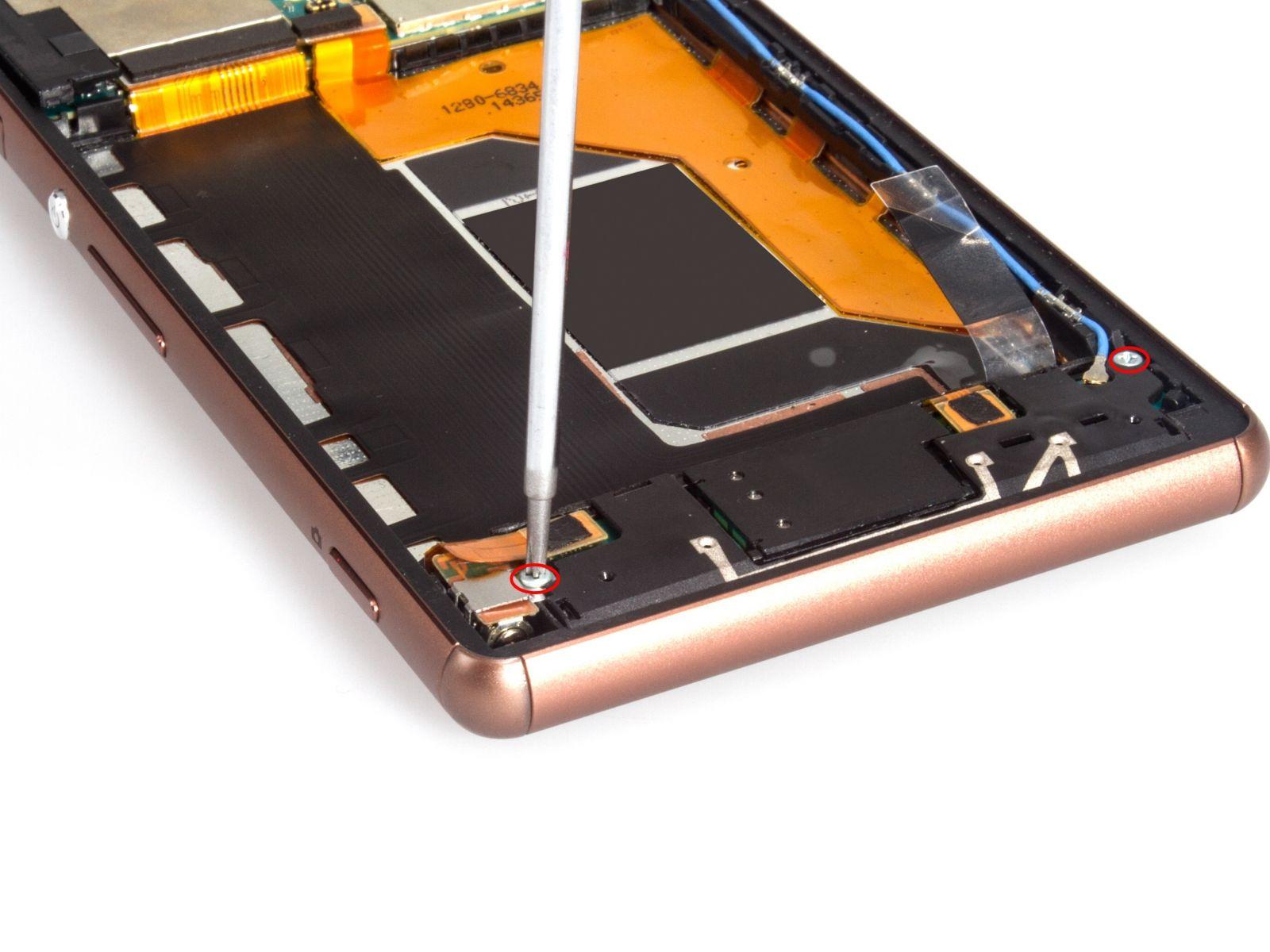 Замена экрана на Sony Xperia Z3 Dual (10)