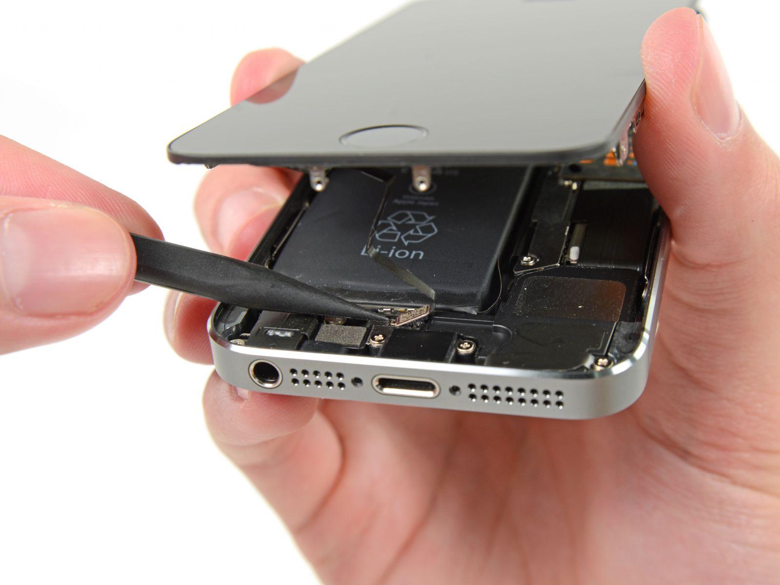 Замена кнопки «домой» на iPhone 5S (14)
