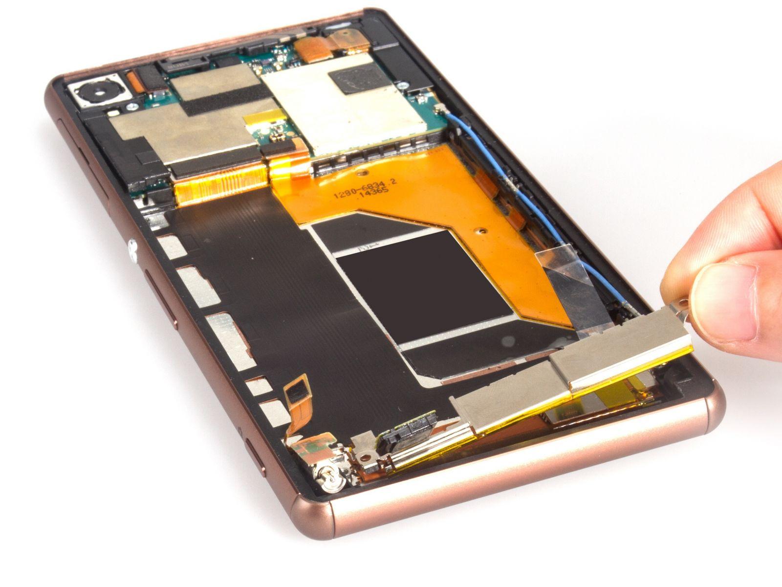 Замена экрана на Sony Xperia Z3 Dual (16)