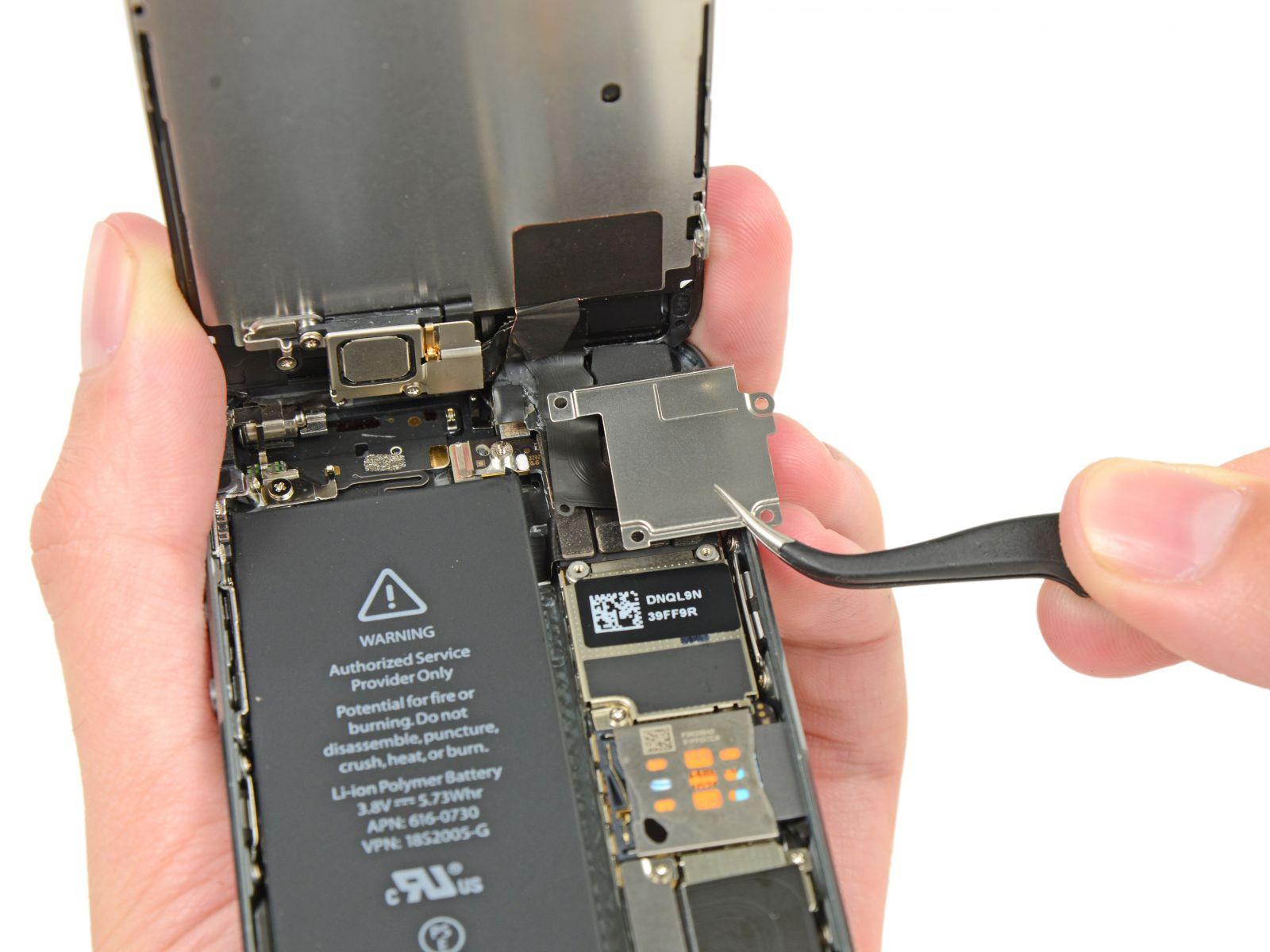 Замена кнопки «домой» на iPhone 5S (18)