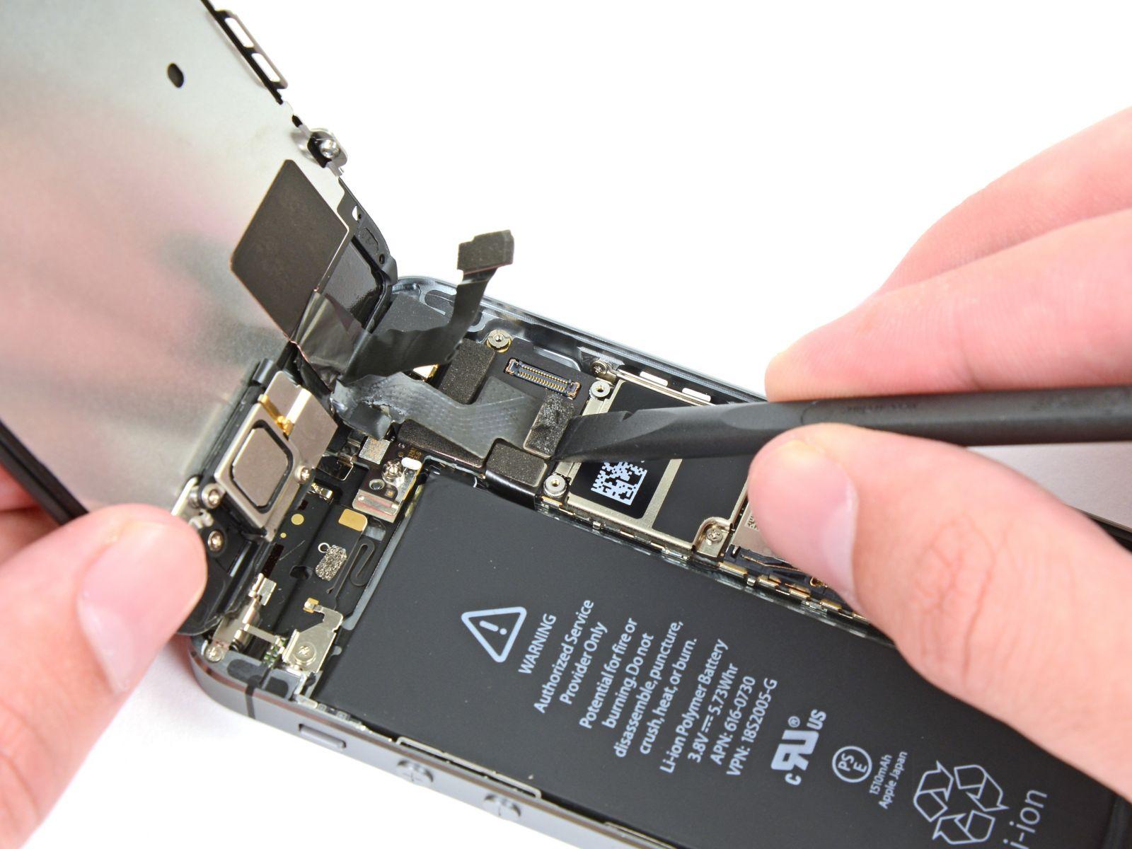 Замена кнопки «домой» на iPhone 5S (21)