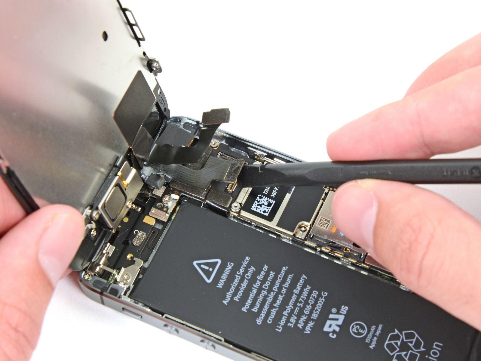 Замена кнопки «домой» на iPhone 5S (22)