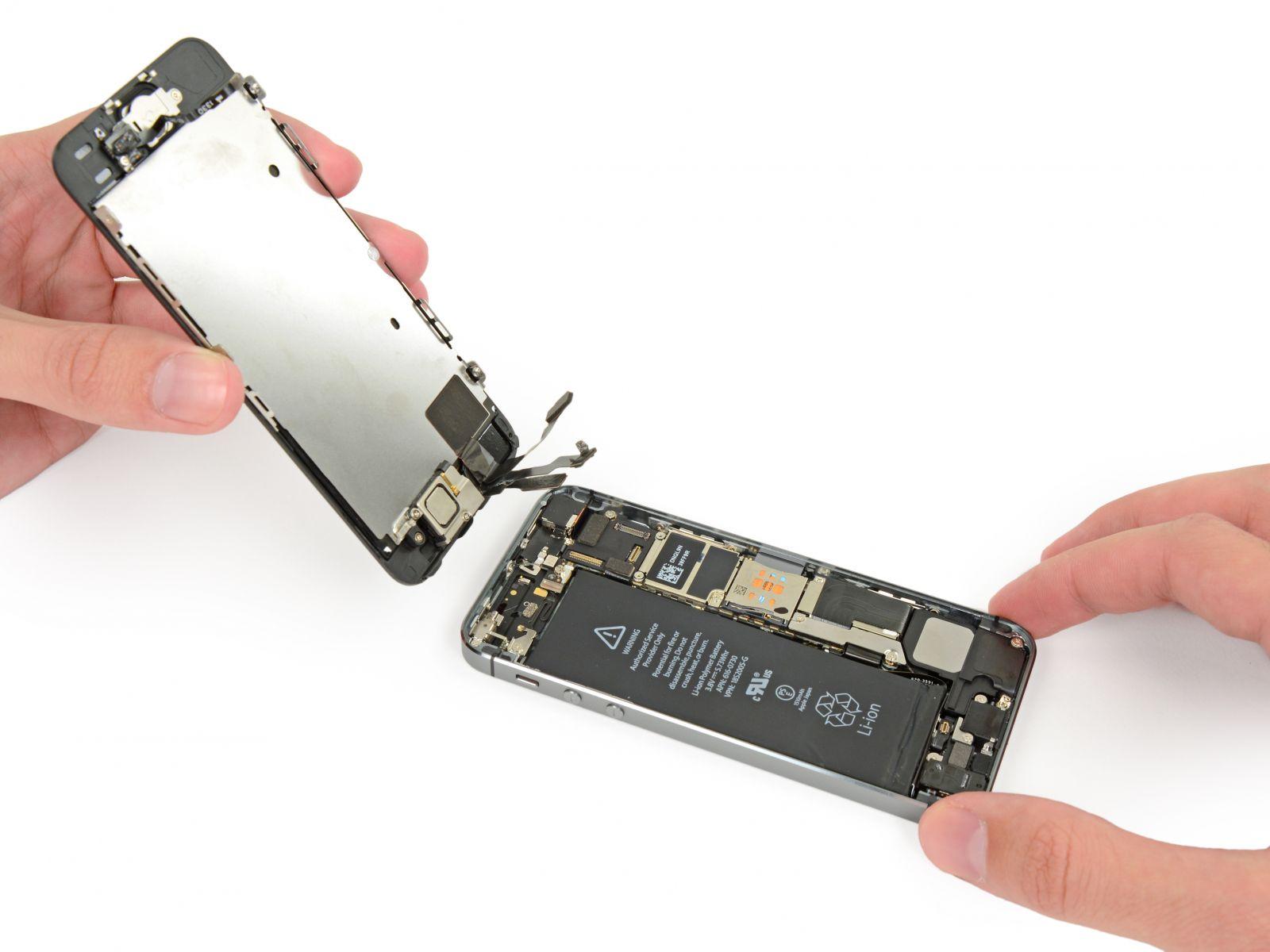 Замена кнопки «домой» на iPhone 5S (25)