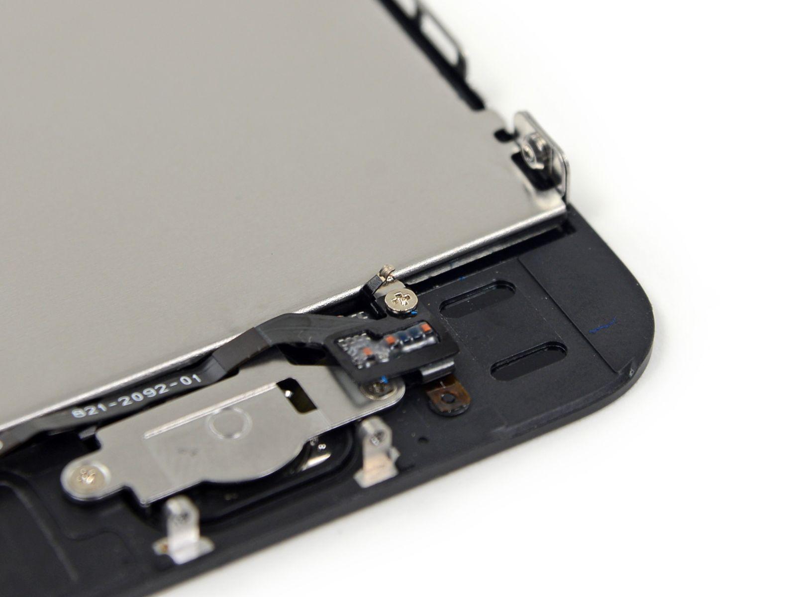 Замена кнопки «домой» на iPhone 5S (27)
