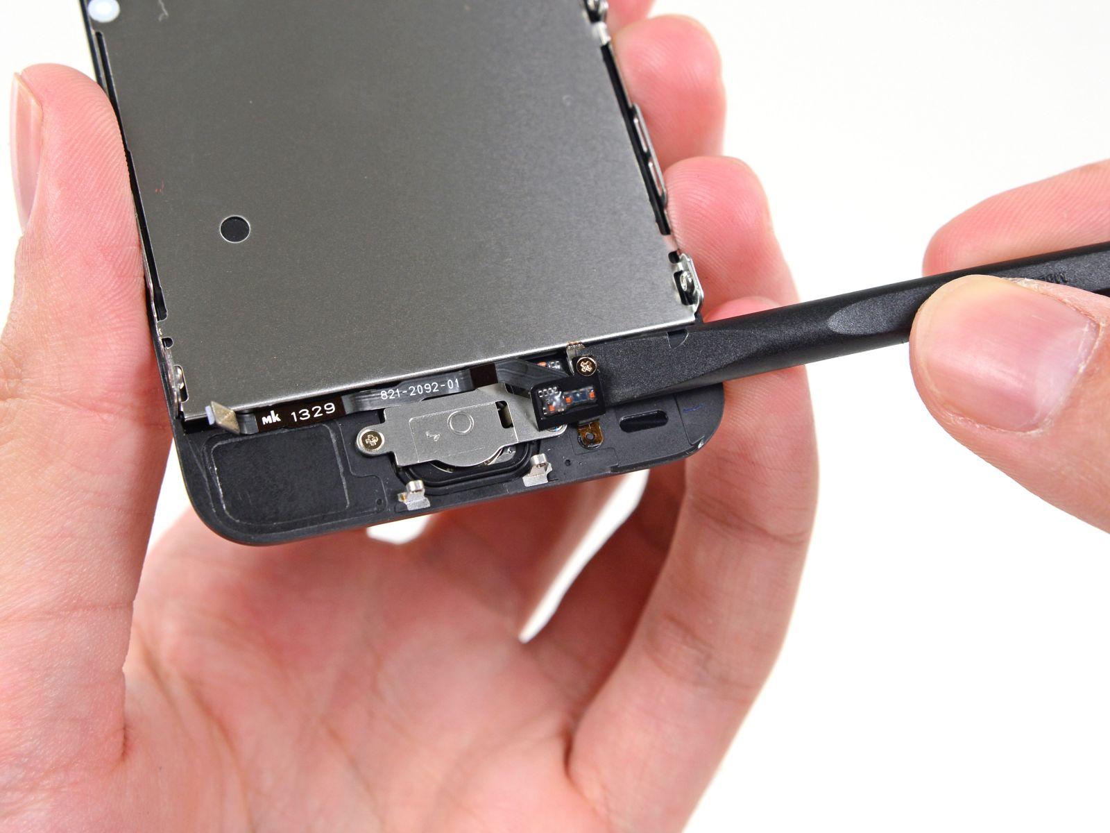 Замена кнопки «домой» на iPhone 5S (28)
