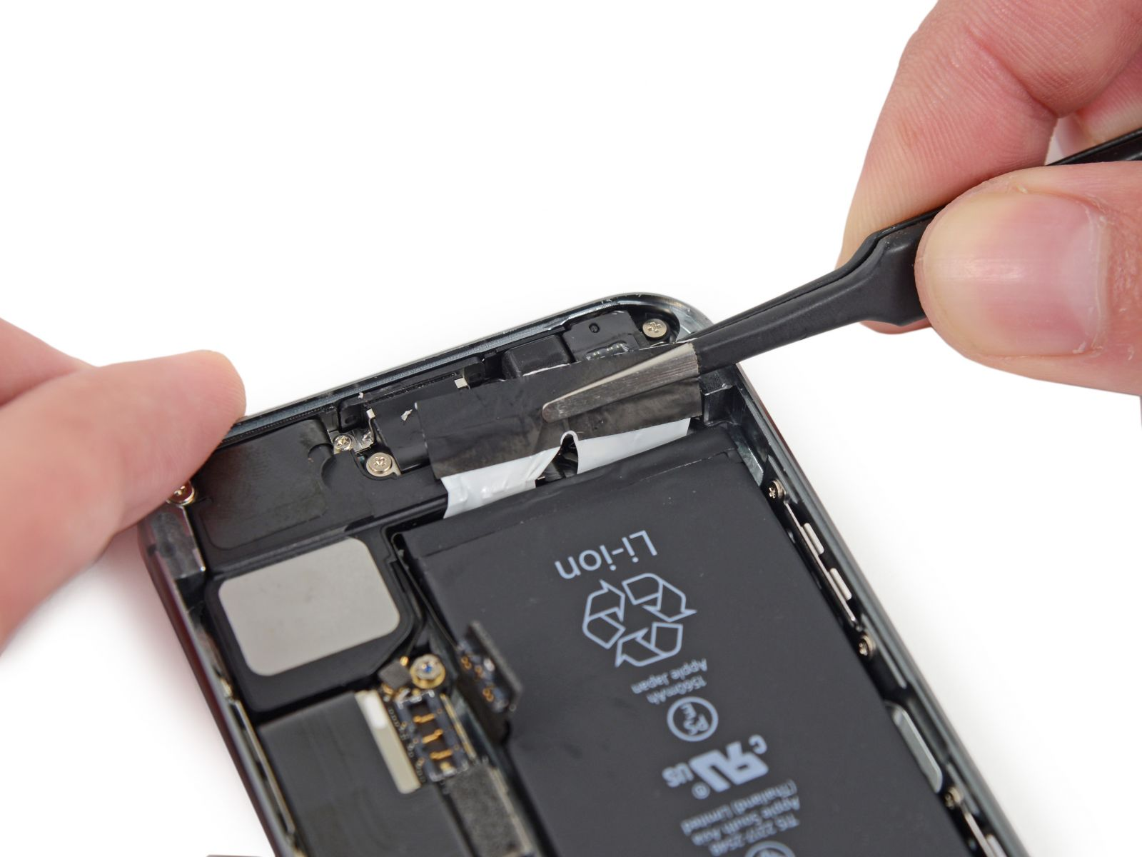 Замета аккумулятора на iPhone 5S * Блогофолио Романа Паулова